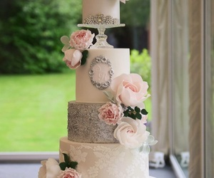 beautiful, cake, and design image