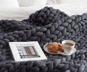 coffee, bed, and home image