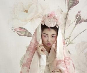 costume, dress, and wedding image