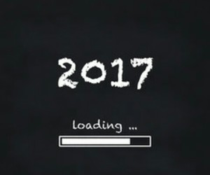 christmas, new year, and 2017 image