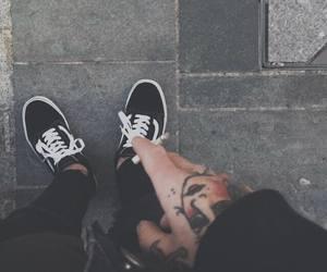 black, mode, and skate image
