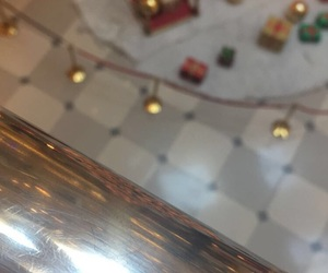 background, christmas, and decoration image