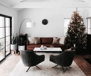 christmas, room, and livingroom image