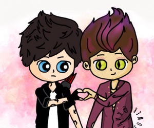 chibi, fanart, and the mortal instruments image