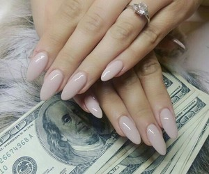 nails, money, and ring image