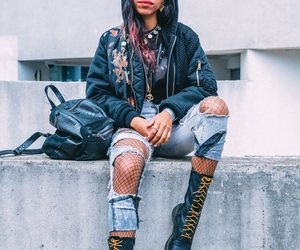 boots, doc martens, and fashion image