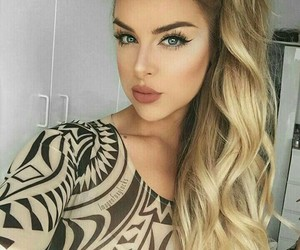 girl, cuet, and make+up image