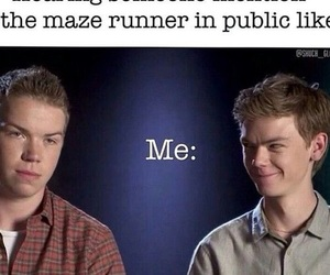 gally, maze runner, and will poulter image