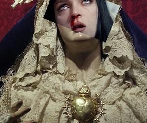 bad, religión, and art image