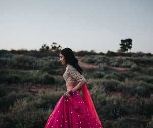 costume, india, and dress image