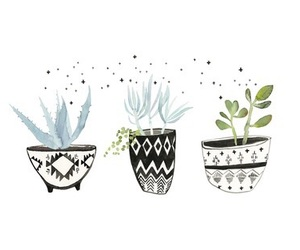 plants, art, and cute image