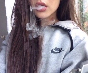 smoke, nike, and tumblr image