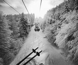 Skiing, snow, and winter image