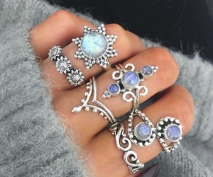 jewelry, purple, and rings image