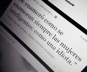 frases, mujeres, and tumblr image
