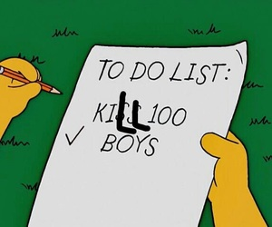 boy, kiss, and list image