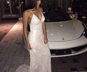 dress, car, and luxury image