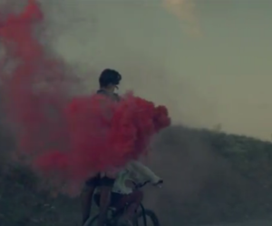 we found love, calvin harris, and red image