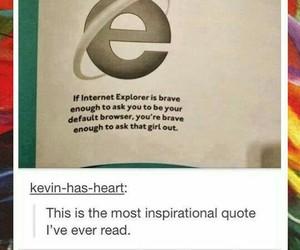 funny, brave, and internet explorer image