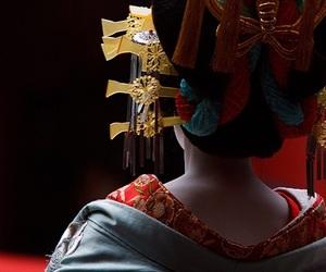 geisha and japan image