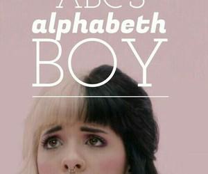 melanie martinez, cry baby, and alphabet boy image