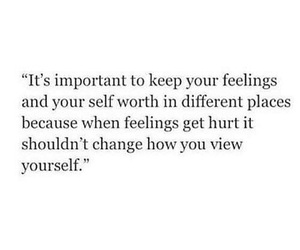 quotes, feelings, and self worth image