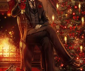 anime, christmas, and kuroshitsuji image