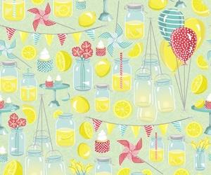 background, balloon, and lemon image