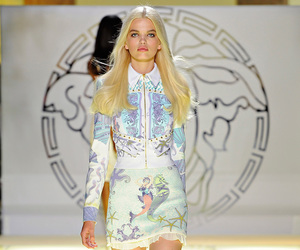 runway and Versace image
