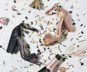 champagne and heels image
