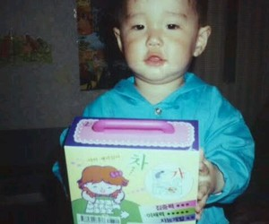 baby and kpop image