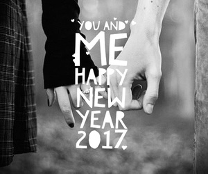 couple, happy new year, and inspirational image