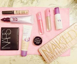 cosmetics, nars, and rimmel london image