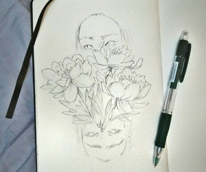 aesthetic, creativity, and draw image