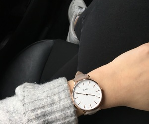 clock, tumblr, and watch image