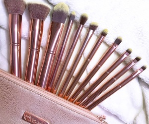 Brushes, lovely, and makeup image