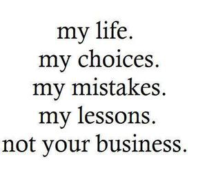 business, choices, and hater image