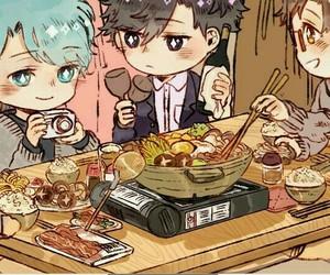 chibi, food, and cute image