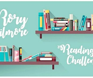 books, challenge, and gilmore girls image
