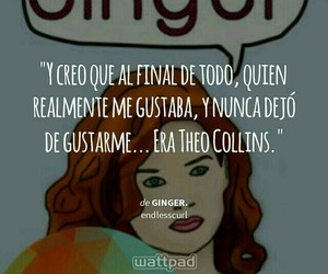 ginger, wattpad, and endlesscurl image