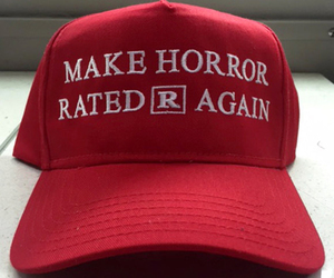 blood, fashion, and hat image