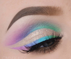 beauty, eye, and eyeshadow image