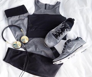 fashion, nike, and fitness image