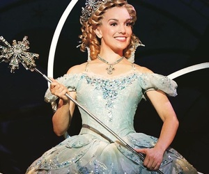 bubble dress, wicked, and wicked musical image