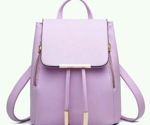 bag, lilac, and delicate image