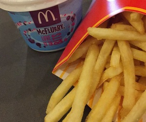 aesthetic, food, and fries image