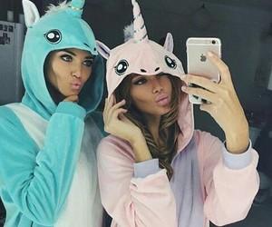 bff, unicorn, and friends image