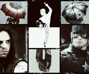 captainamerica, stucky, and steverogers image