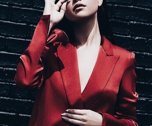 dark red, fashion, and red image