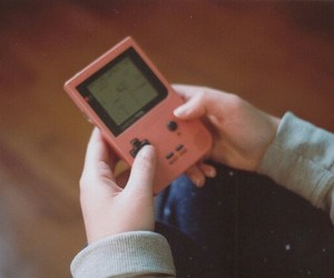 game and vintage image